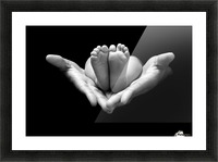 A little miracle Picture Frame print