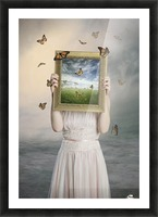 Set them free Picture Frame print