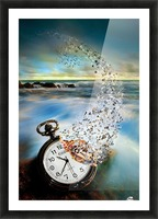 The Vanishing Time Picture Frame print