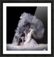 Powder Picture Frame print