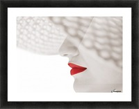Red Picture Frame print