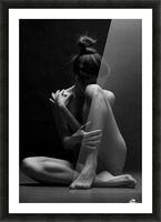 bodyscape Picture Frame print