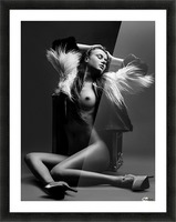 Sensuality Picture Frame print