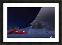 Alpine Start Picture Frame print