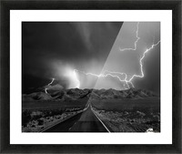 On the Road with the Thunder Gods Picture Frame print