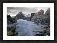 Living Norway Picture Frame print