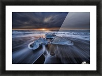 Wild Ice II Picture Frame print