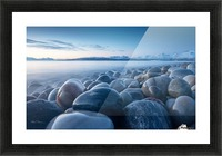 An ocean of time Picture Frame print