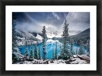 Morning blues Picture Frame print
