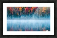 Morning Reflection Picture Frame print