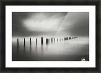 waves brake Picture Frame print