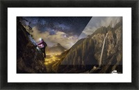 The Climb Picture Frame print