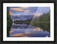 Lake Matheson Picture Frame print