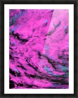 Pink Pyre Picture Frame print