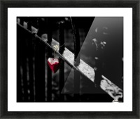 Lonely Picture Frame print
