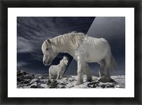 Partners Picture Frame print