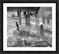 Misty Picture Frame print