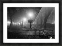 Foggy Day Picture Frame print
