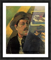 Self Portrait by Gauguin Picture Frame print