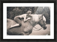 Off to the Races Picture Frame print