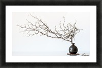 Vase And Branch Picture Frame print