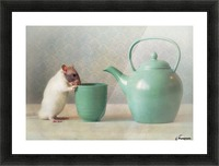 The Teapot Picture Frame print