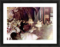 Stage Probe by Degas Picture Frame print
