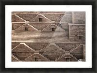 geometry Picture Frame print