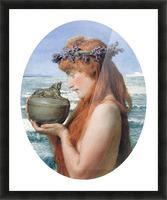 Pandora by Alma-Tadema Picture Frame print