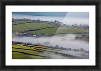 Agricultural mist Picture Frame print