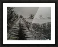 An English Lane Picture Frame print