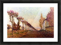 The Avenue by Sisley Picture Frame print