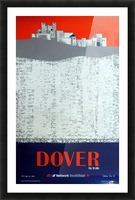 Dover by Train Picture Frame print