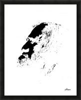 Monsieur Picture Frame print