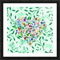 Art37 Picture Frame print