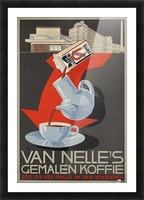 Van Nelle German Koffie Picture Frame print