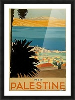 Visit Palestine Picture Frame print