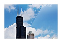Willis Tower Picture Frame print