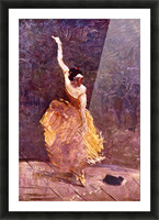 The Dancing Girl by Toulouse-Lautrec Picture Frame print