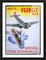 Austroflug Picture Frame print