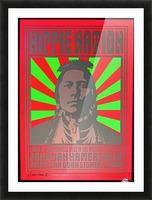 John Van Hamersveld Poster Hippie Nation Picture Frame print