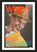 WNEW Picture Frame print