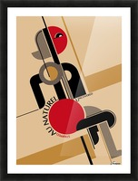 Bauhaus Nude Picture Frame print