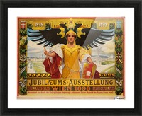Jubilaeums Austellung Wien 1898 Picture Frame print