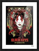 The Black Keys Picture Frame print