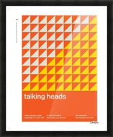 Talking heads Picture Frame print