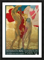 International Exhibition of Industry and Labour Turin 1911 Picture Frame print