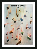 Hiroshima Appeals 1983 Picture Frame print