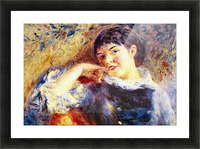 The Dreamer by Renoir Picture Frame print