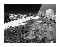 The Tundra Picture Frame print